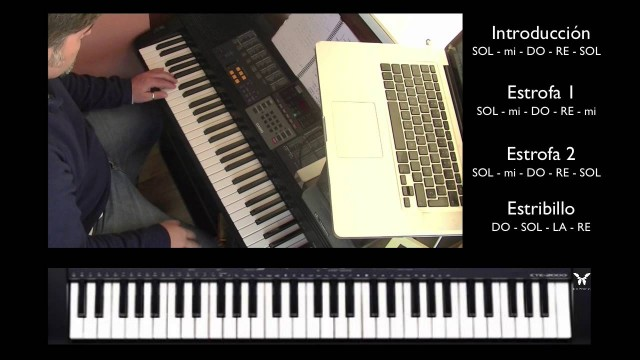 Teclado 2 de 5 – Every Breath You Take – Estribillo | #FlippedKawa