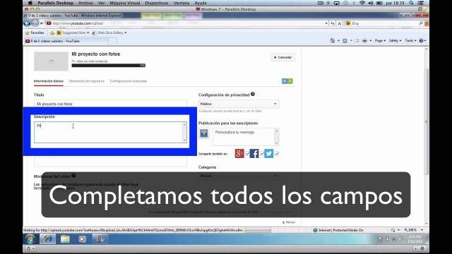 Edición de video 8 de 13: Publicar en Youtube | #FlippedKawa
