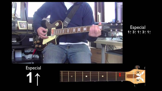 Guitarra eléctrica 3/5 – Every Breath You Take – Estrofa 3 + Especial | #FlippedKawa