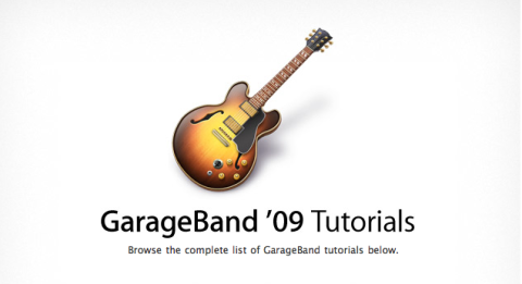 ¿Conoces los video-manuales de GarageBand?