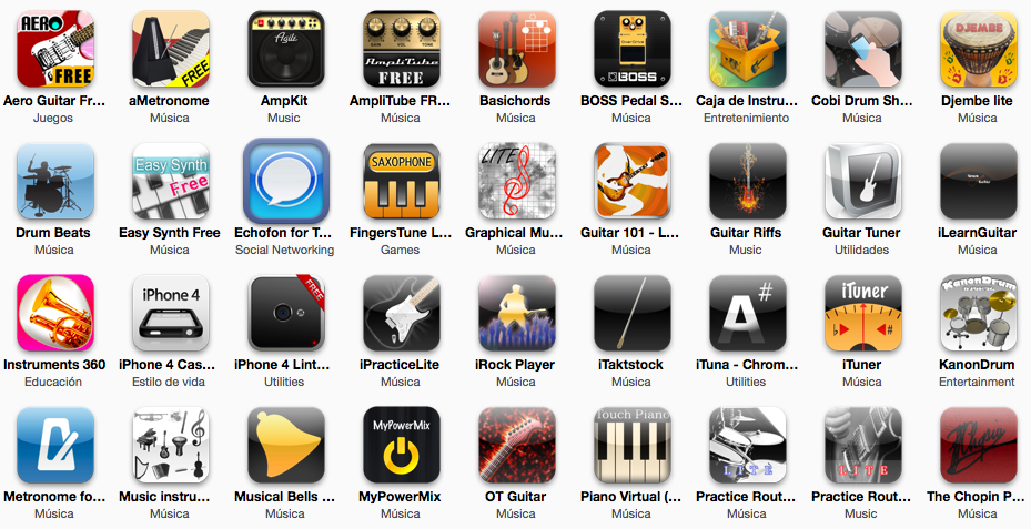 app musicales