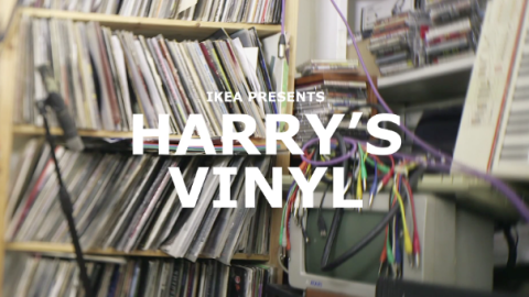 Harry's records by IKEA | Musikawa