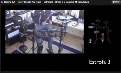 Batería 3/5 – Every Breath You Take – Estrofa 3 + Break 2 + Especial #Flippedkawa