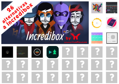 "Componer música con ""incredibox"" y otras 26 alternativas (I) 