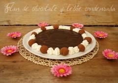 Cómo elaborar un flan de chocolate y leche condensada | KreaKawa