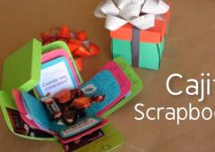 Cómo hacer una cajita scrapbook de regalo muy original | Kreakawa