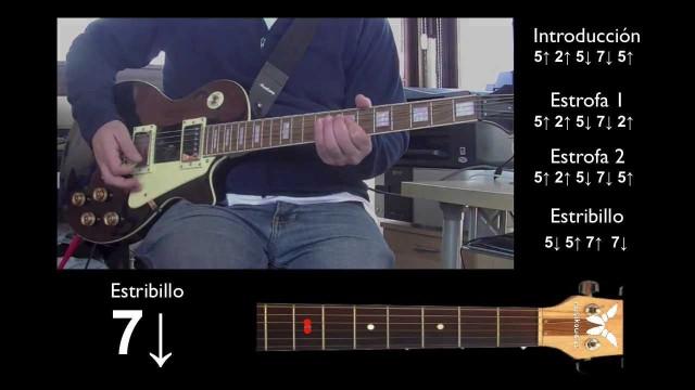 Guitarra eléctrica 2 de 5 – Every Breath You Take – Estribillo | #FlippedKawa