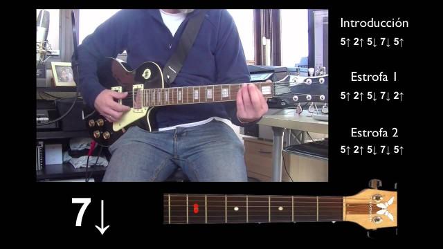 Guitarra eléctrica 1 de 5 – Every Breath You Take – Introducción + Estrofas 1 y 2
