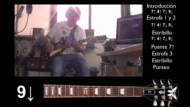 "Guitarra eléctrica 4 de 5 – ""Te entiendo"" Pignoise – Punteo – Cover |#FlippedKawa"