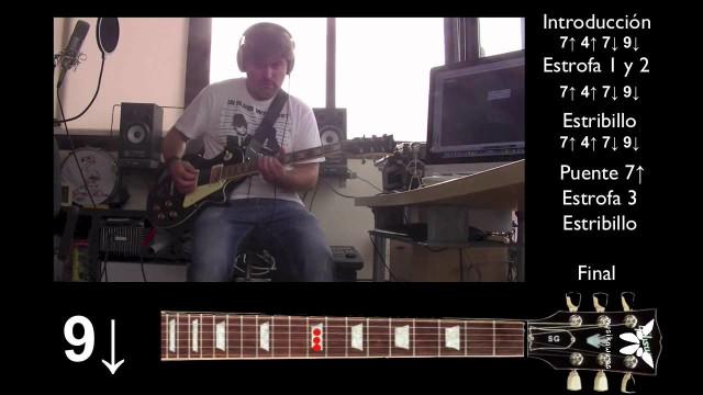 "Guitarra eléctrica 5 de 5 – ""Te entiendo"" PIGNOISE – Final Cover #Tutorial | #FlippedKawa"