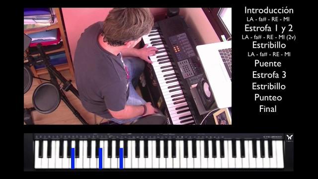 "Teclado – Piano 5 de 5 – ""Te entiendo"" @pignoise – Final – Cover – #tutorial | #FlippedKawa"