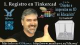 01. Registro en Tinkercad | #FlippedKawa #3Dkawa