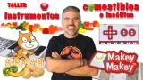 ¿Cómo crear instrumentos comestibles e insólitos con makey-makey y Scratch? | #FlippedKawa