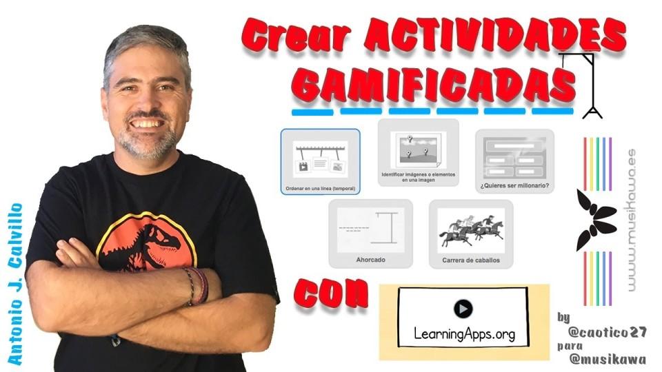 Crear actividades gamificadas con @Learningappsorg by @caotico27 para @Musikawa |#FlippedKawa