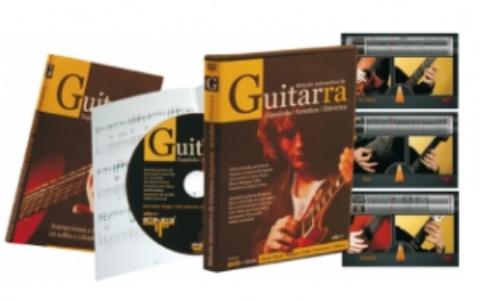 Método interactivo y multimedia para guitarra española, eléctrica y acústica
