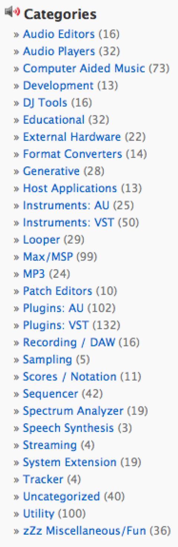 569 aplicaciones musicales gratis para MAC