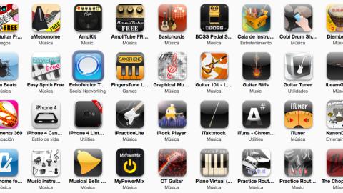 30 aplicaciones musicales gratuitas para tu iPhone/iPod Touch