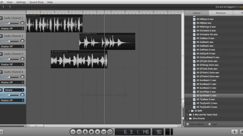 Soundation Studio, un estudio de audio digital en la nube