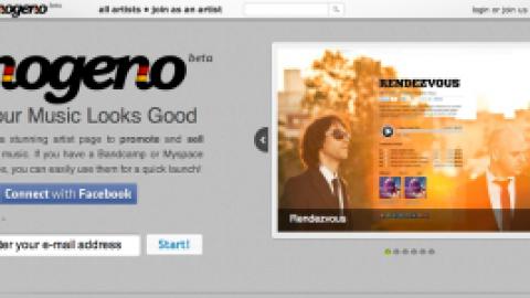 Nogeno para crear webs para músicos