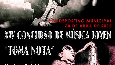Concurso «Toma Nota» 2015 para los IES de Sanlúcar de Barrameda | Musikawa