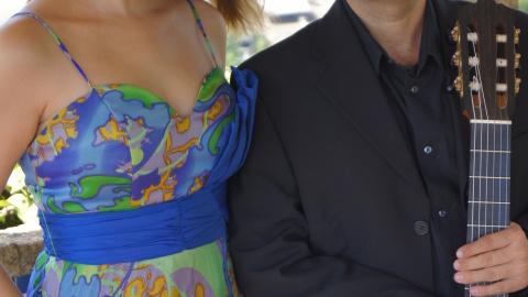 Sara Rosique y Alberto Plaza en Sanlúcar – Lorca: música y palabra