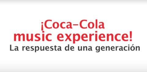 Nace Coca-Cola Music Experience con un montón de regalos | Musikawa