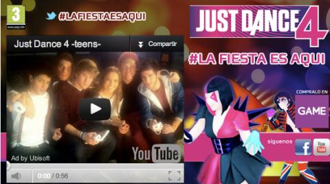 Vuelve Just Dance 4 teens [videojuego] | Musikawa