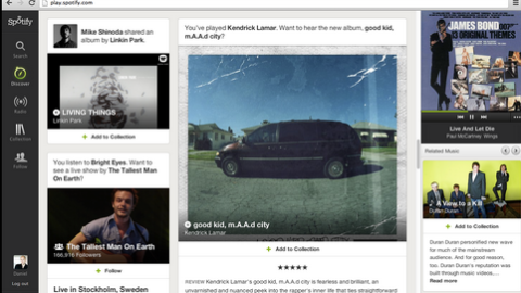 Spotify se actualiza en diciembre de 2012 | Musikawa