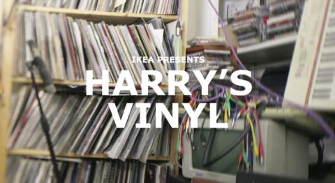 Harry's records by IKEA | Musikawa