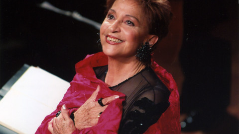 TERESA BERGANZA en Voz y Salud: «Mucho estudio, mucho estudio…» [podcast] | Musikawa