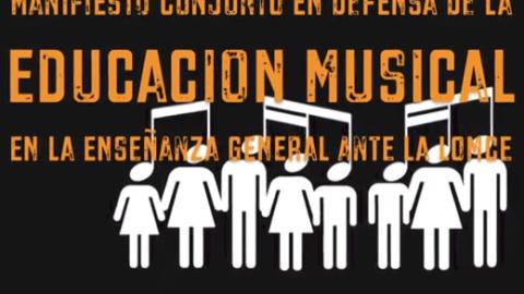Rueda de prensa de COAEM + Manifiesto de adhesión de las enseñanzas musicales