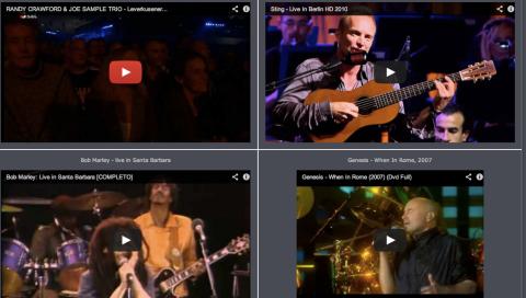 200 conciertos completos en video | Musikawa