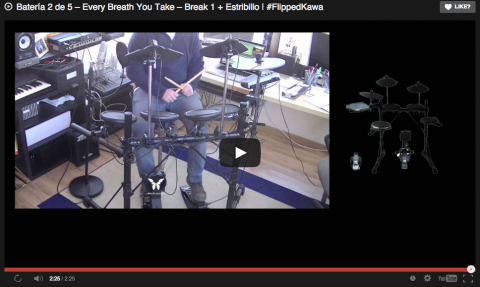 Batería 2 de 5 – Every Breath You Take – Break 1 + Estribillo | #FlippedKawa