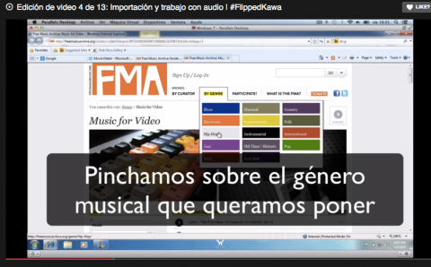 Edición de video 4 de 13: Importación y trabajo con audio | #FlippedKawa