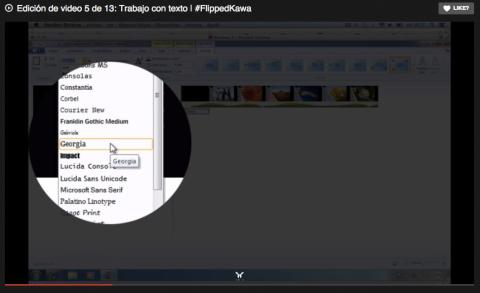 Edición de video 5 de 13: Trabajo con texto | #FlippedKawa