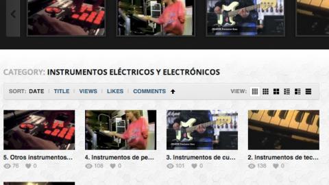 Ciclo «Instrumentos eléctricos y electrónicos» [videos] | Musikawa