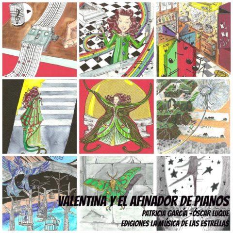 Valentina y el afinador de pianos [novela musical ilustrada + CD] + Sorteo de un ejemplar | Musikawa