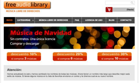 FreeAudioLibrary, la librería de música libre de derechos más importante de España | Musikawa