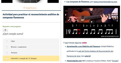 Compases flamencos, Wix por @MarceloGalJim