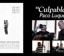 """Culpable"" por Paco Luque, con motivo de las I Jornadas sobre Refugiados del @IESCColon | Musikawa #EspañaCantaporSiria"