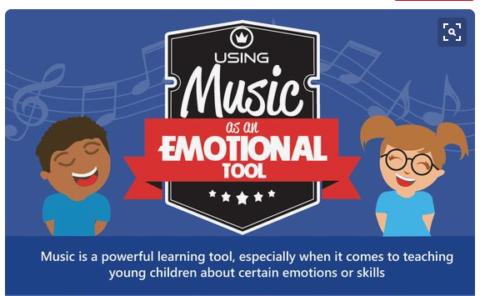 Usar la música como herramienta para las emociones [infografía] | #musikawa