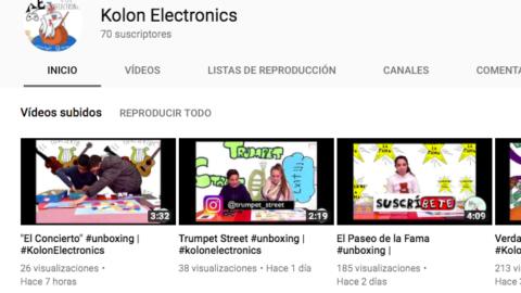 Fase de difusión del #ABP #kolonElectronics – #site #Youtube e #Instagram | #Musikawa
