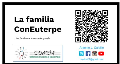 «La familia ConEuterpe» presentación en el Seminario Nacional de @coaemcoaem | @Musikawa