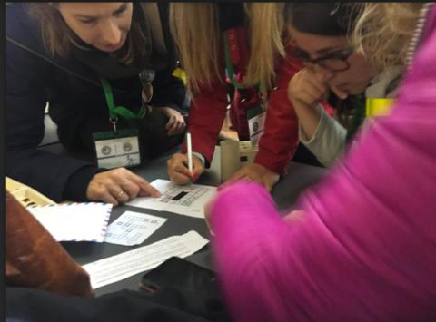 Taller de #escaperoom / #breakout educativo en las #JIPAtq18 con fotos y recursos | @musikawa