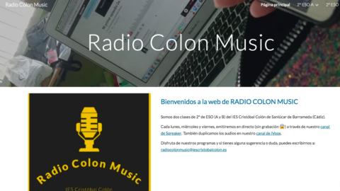 Nuevo ABP «Radio Colon Music» en 2º de ESO | #Musikawa #ABP #eduradio #PRODIG @ComunicApro_