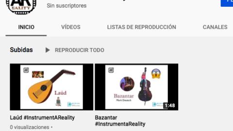 Vídeos de instrumentos musicales con Realidad Aumentada y Chromakey | @musikawa #InstrumentaReality
