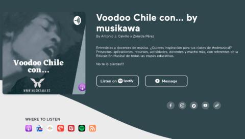 Cumplimos 10 programas de #VoodooChileCon | #Musikawa @musikawa